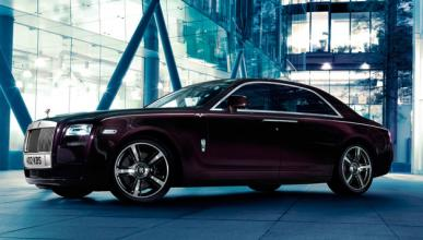Rolls-Royce Ghost V-Specification delantera