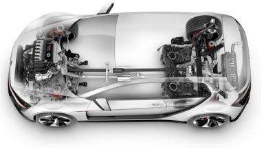 El Volkswagen Golf R Evo podría ir al Salón de Beijing 2014
