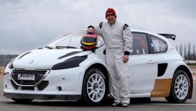 Jacques Villeneuve correrá con un Peugeot 208 de 600 CV