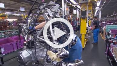 Vídeo: así se monta una moto BMW en 9 minutos