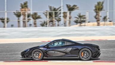 McLaren P1 barrido