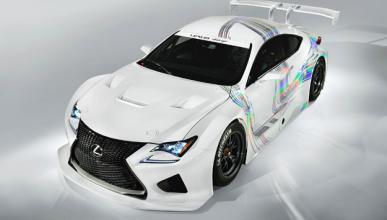 Lexus RC F GT3 delantera