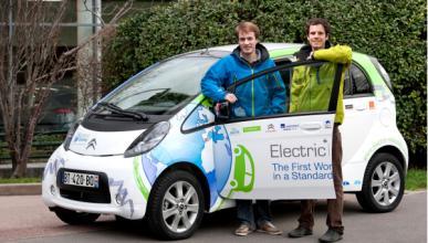 Citroën C-Zero: primer eléctrico en dar la vuelta al mundo