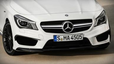 El Mercedes CLA Shooting Brake, ¡destapado!