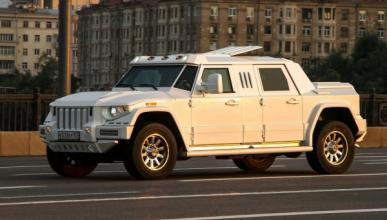 Dartz Prombon: ¿un coche para la crisis de Crimea?