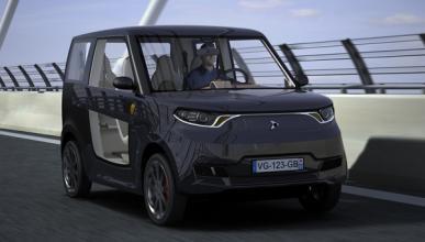 El CSIC crea un coche eléctrico completamente reciclable