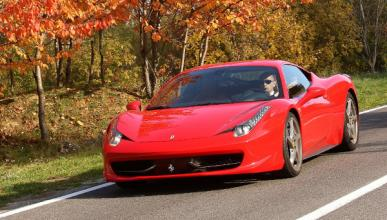Estrella un Ferrari en Madrid y se da a la fuga
