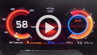 Así suena el BMW i8 de 0 a 130 km/h
