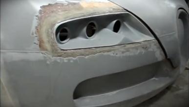Réplica Bugatti Veyron a partir de un Pontiac GTO: vendido