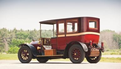 Mercedes Town Car 1912 encargado por John Jacob Astor IV
