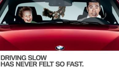 BMW lanza un sistema de sensación de velocidad a 20 km/h