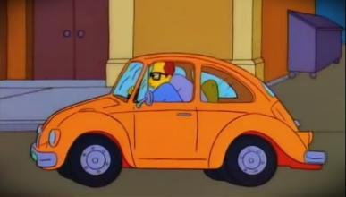 Todos los coches reales que aparecen en 'Los Simpsons'