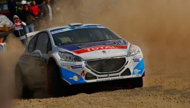 Rally Acrópolis: Peugeot hizo honor a su historia