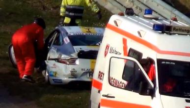 Primer accidente de un BMW M235i Racing en Nürburgring