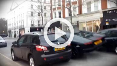 Vídeo: ¡accidente de un Lamborghini Aventador en Londres!