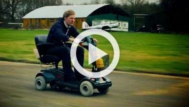 El scooter de movilidad reducida más rápido del mundo