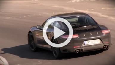 ¿Así suena el nuevo cuatro cilindros en el Porsche 911?