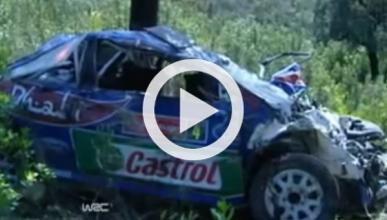 Vídeo: accidente de Latvala con 17 vueltas de campana