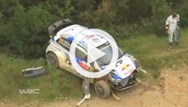 Los siete vídeos más impactantes del Rally de Portugal 2014