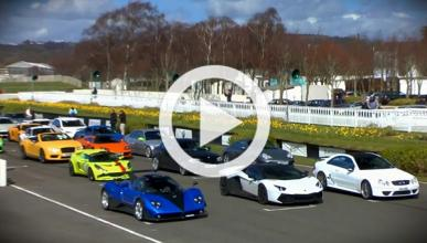 Saywell International Track Day: superdesfile de caridad
