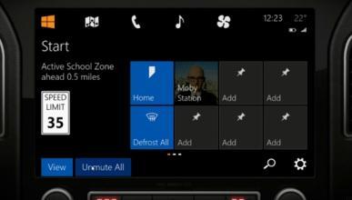 Windows en el coche: Microsoft quiere el contraataque