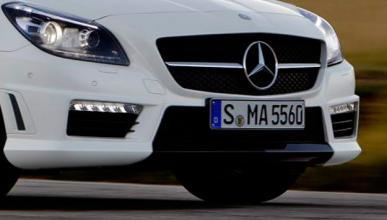 El Mercedes SLK 2018 podrá ser tracción integral e híbrido