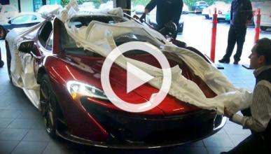 Vídeo: cómo se entrega un McLaren P1