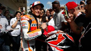Márquez domina los entrenamientos libres del GP Austin 2014