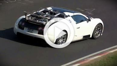 Un misterioso Bugatti Veyron, cazado en Nürburgring