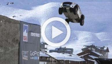 Así acabó el récord mundial de salto de longitud en coche