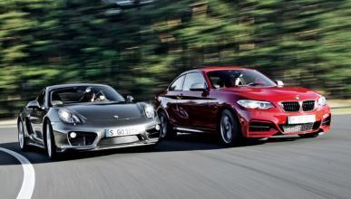Comparativa Porsche Cayman S y BMW M235i