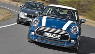 Comparativa BMW 116i y Mini Cooper