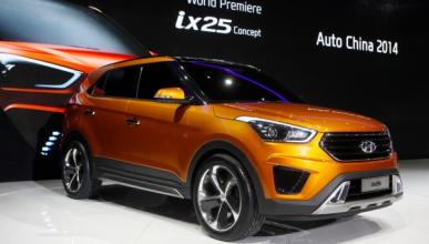 Hyundai Concept ix25: debut mundial en Pekín