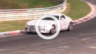 Vídeo: El Mercedes AMG GT se prueba a fondo en Nürburgring