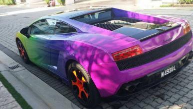 Lamborghini Galardo arcoíris