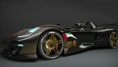 Dubai Roadster, un deportivo radical para 2015