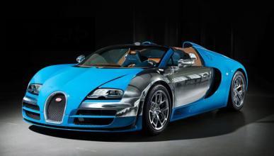 Un Bugatti Veyron se estrella en Austria