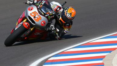 Clasificación Moto2 GP Argentina 2014: segunda de Rabat