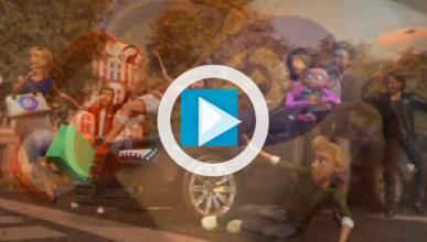 Siete y Nueve, atropelladas en la promo de Mediaset