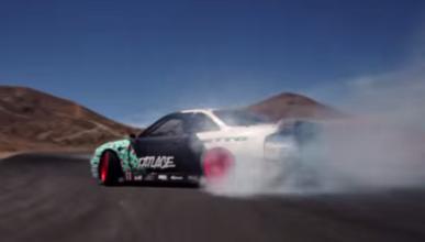 Vídeo: drift con derrapadas de 360 grados