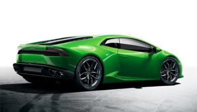 Un Lamborghini Huracán en Verde Mantis, en Marbella