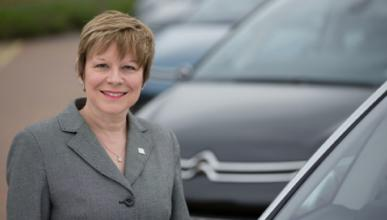 Linda Jackson, directora de Citroën e Yves Bonnefont, de DS