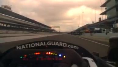 Así es un 'pit-stop' en la Indycar a través de Google Glass