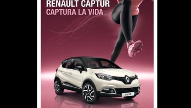 Renault Captur, el coche oficial de la Carrera de la Mujer