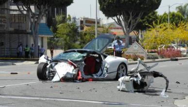 Muere al volante de su Ferrari 458 al chocar con un Hyundai