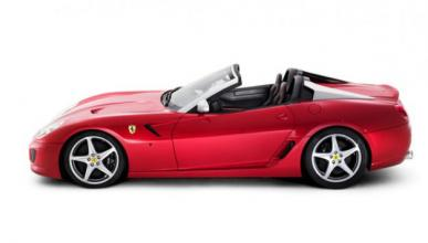 Encuentran el Ferrari P540 Superfast Aperta en un taller