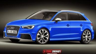 Audi RS3 2015, basado en el A3 Clubsport Quattro concept