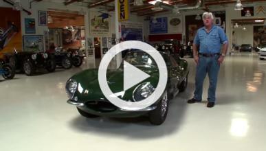 Un Jaguar XKSS de Steve McQueen en 'Jay Leno's Garage'