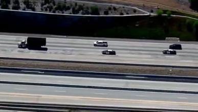 Espectacular persecución de un camión en EEUU