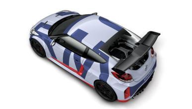 El prototipo más racing del Hyundai Veloster, con 300 CV